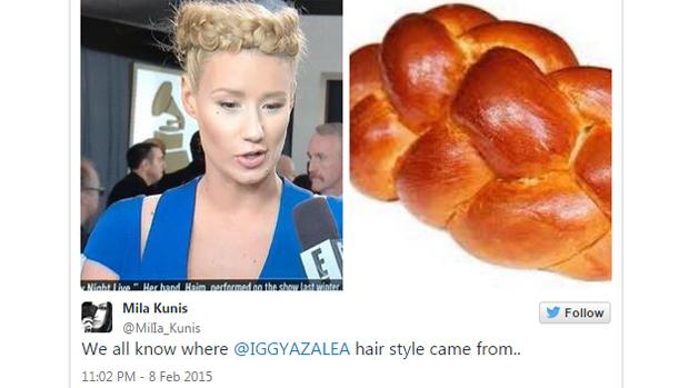 Teria o pão trançado inspirado Iggy Azalea?