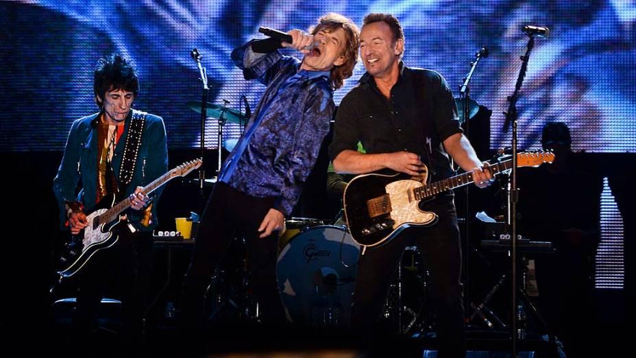 Bruce Springsteen tocou com Rolling Stones no Rock in Rio Lisboa