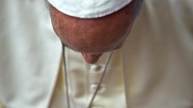 Papa Francisco após audiência geral no Vaticano