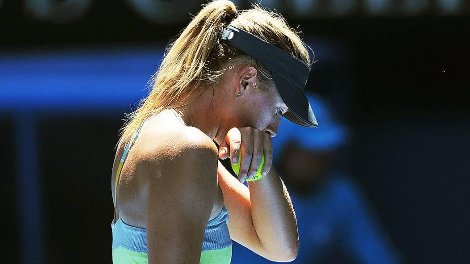 Maria Sharapova é derrotada pela chinesa Li Na, na semifinal do Aberto da Austrália em Melbourne