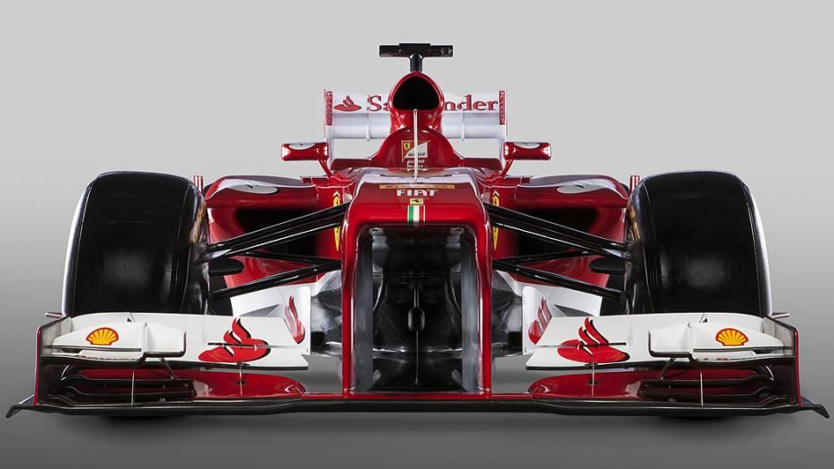 Ferrari F138, novo modelo para a temporada 2013 da Fórmula 1