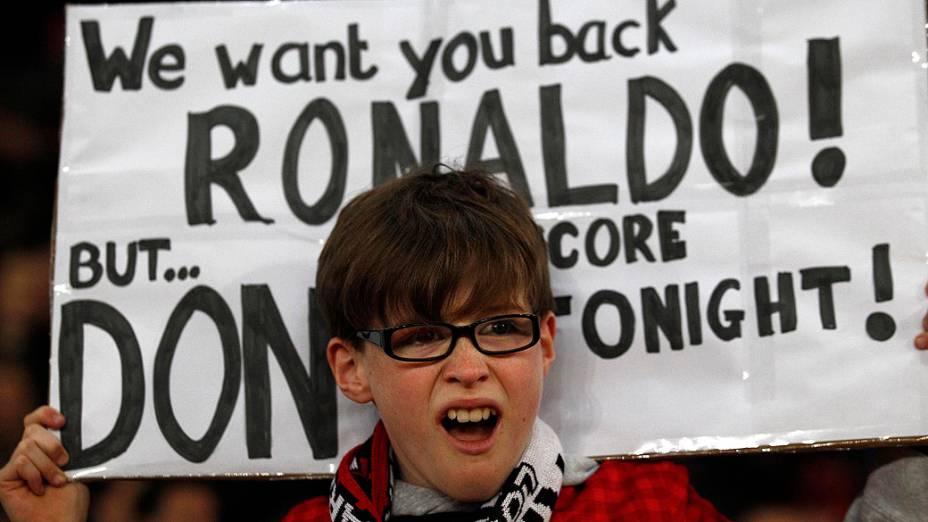Cristiano Ronaldo volta ao Old Trafford após quase 4 anos em jogo do Manchester United contra o Real Madrid, pela Liga dos Campeões nesta terça-feira (05)
