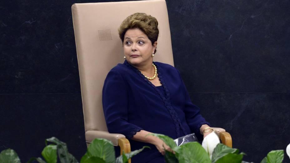 Dilma Rousseff na 68 ª sessão da Assembleia Geral das Nações Unidas, em Nova York