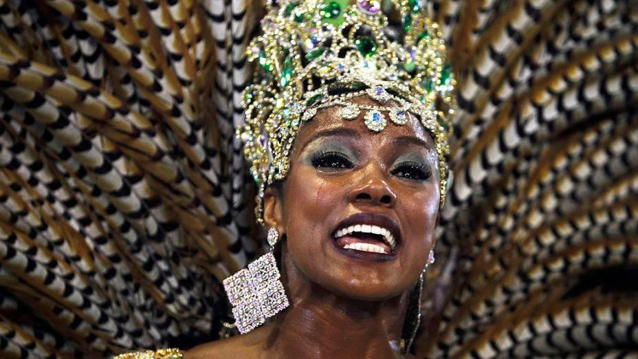 Cris Vianna, rainha de bateria da Imperatriz Leopoldinense