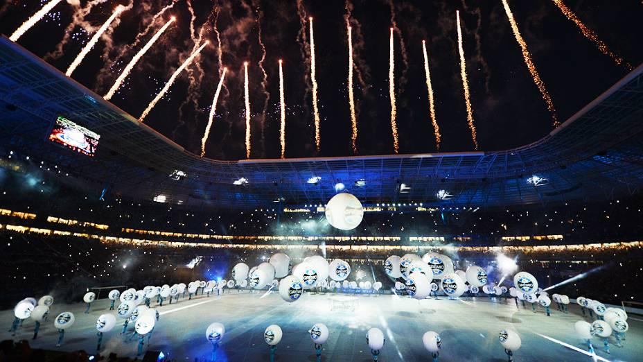 Inauguração da Arena do Grêmio, em Porto Alegre