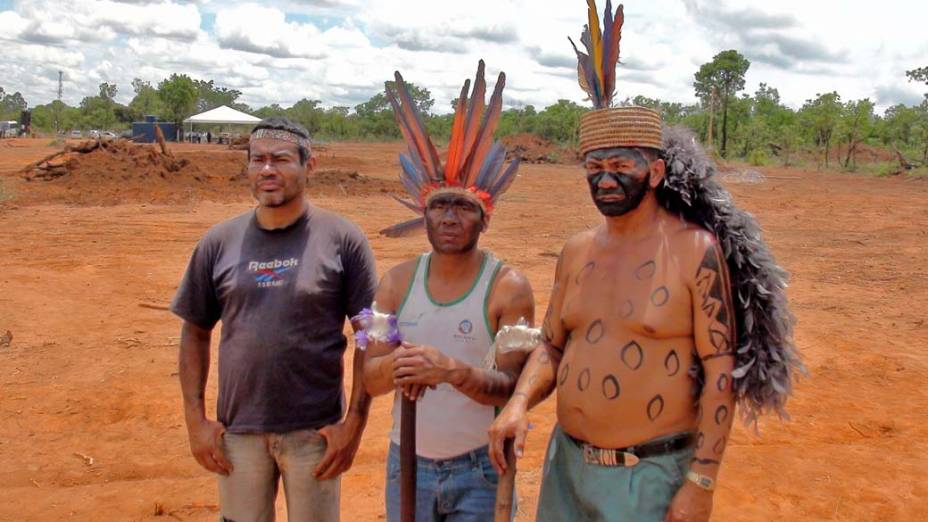Daniel Terena, Francisco Guajajara e João Fulniô: etnias diferentes vivem juntas