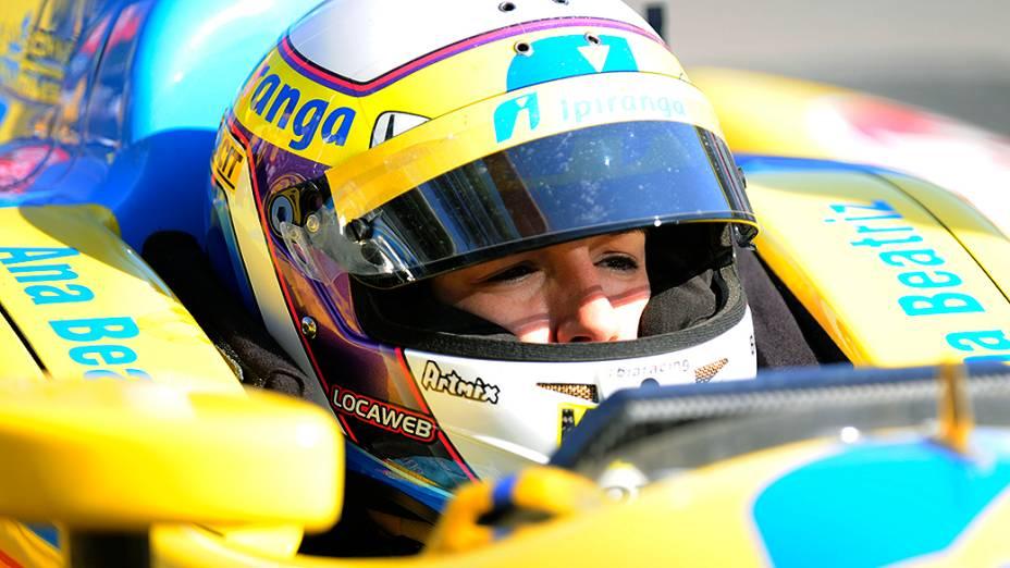Treino de classificação para a Indy 300, em São Paulo