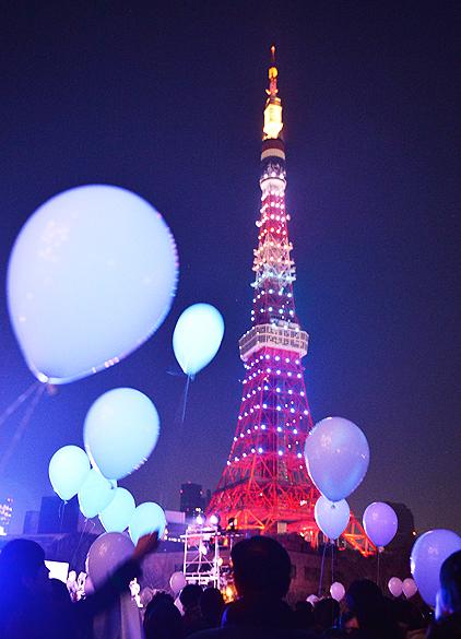 Celebração do Ano Novo em Tóquio, no Japão