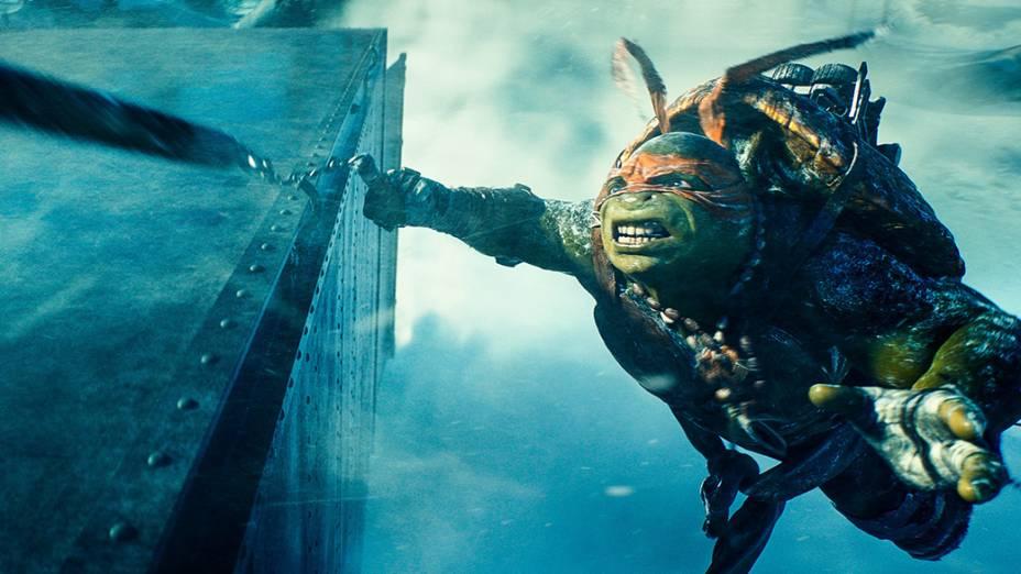 Cenas do filme As Tartarugas Ninja