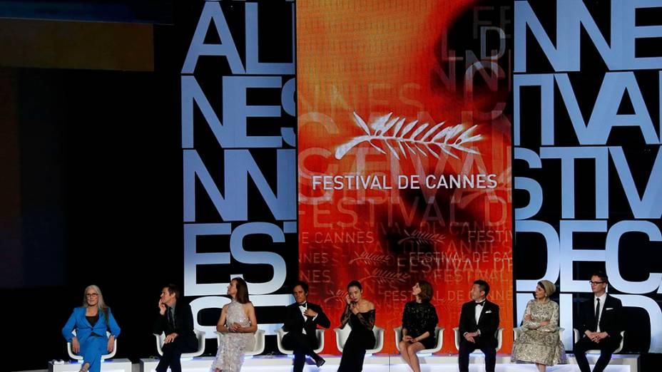 Membros do Júri integram a cerimônia de abertura do 67º Festival de Cinema de Cannes, na França