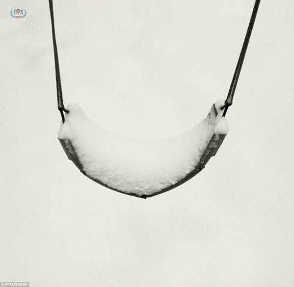 Fotografia de David Rondeau - Vencedora na categoria: Estações