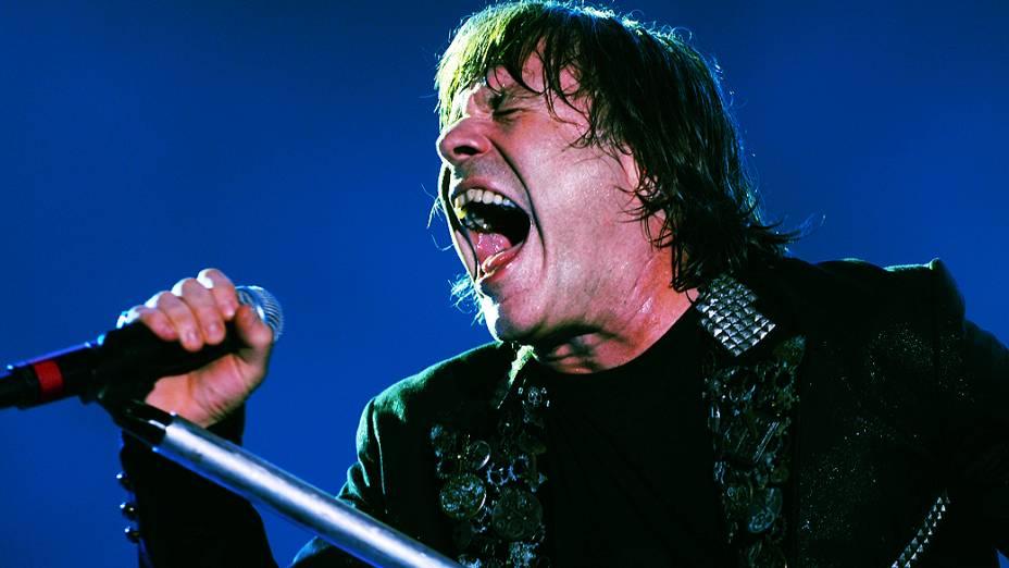 Iron Maiden durante show no Rock in Rio 2013