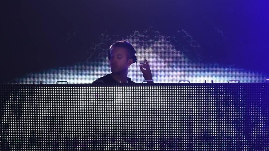 Calvin Harris no Lollapalooza 2015