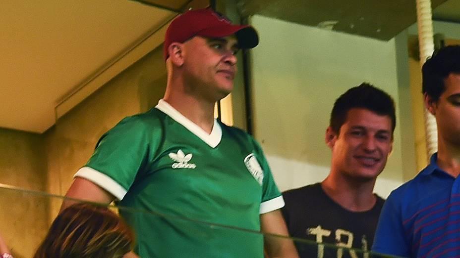 O ex-goleiro do Palmeiras, Marcos, comparece à inauguração da Arena Palmeiras