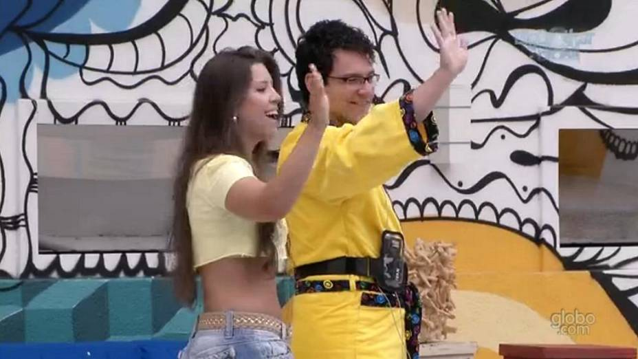 Ivan e Andressa no BBB 13