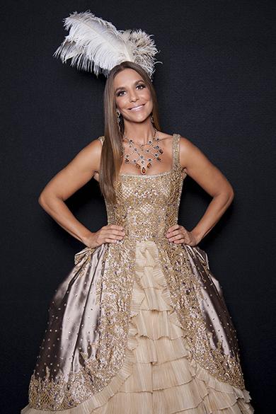 Ivete Sangalo encarna a rainha Maria Antonieta em vestido de 46 000 reais