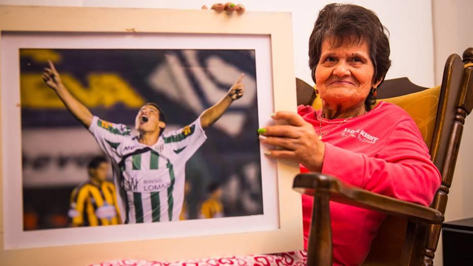Rosa Mirian Rubio avó, de James Rodríguez