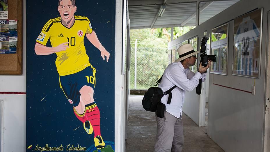 Fundação James Rodríguez  na cidade de Ibague, Colômbia