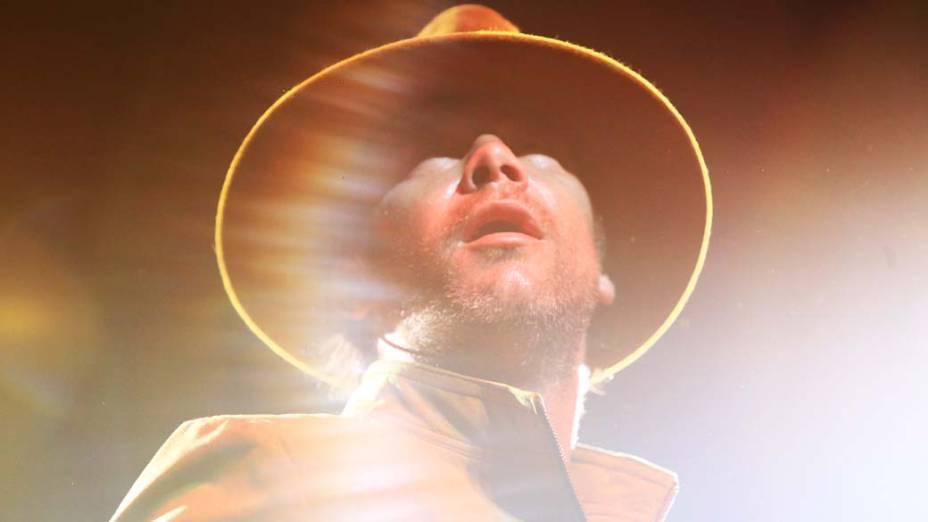 Jamiroquai voltou ao Brasil e se apresentou no Credicard Hall, em São Paulo, na noite desta quinta-feira (07)