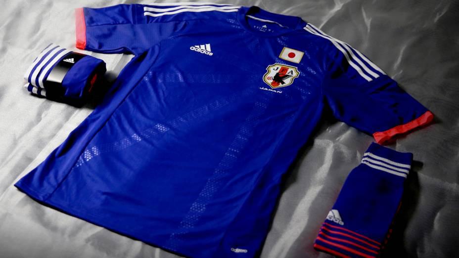 Nova camisa do Japão para a Copa do Mundo 2014