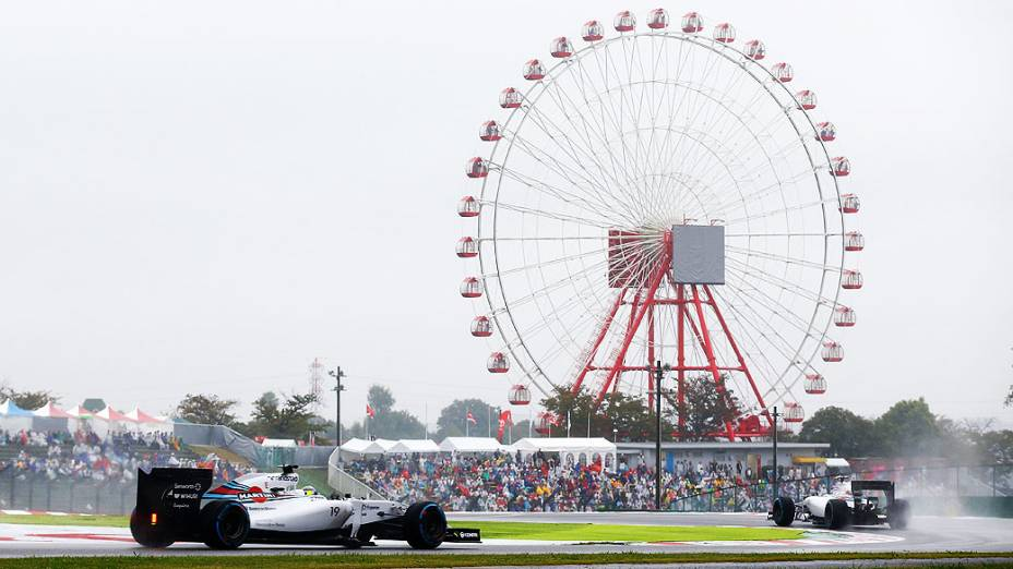 O brasileiro Felipe Massa durante o GP do Japão em Suzuka