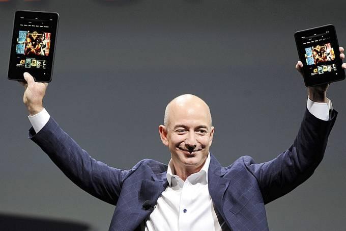 Jeff Bezos, CEO da Amazon – Pessoa mais rica do mundo