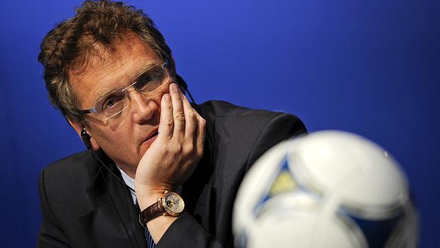 Jérôme Valcke, secretário geral da Fifa