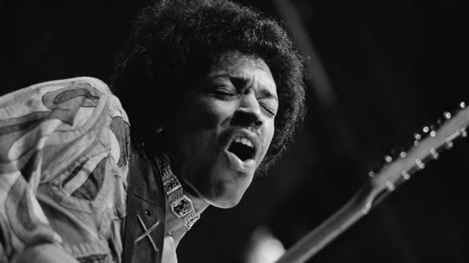Jimi Hendrix, em 1970