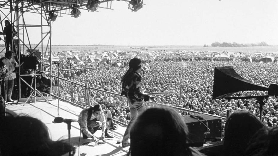 O último show de Jimi Hendrix, na Alemanha, em setembro de 1970