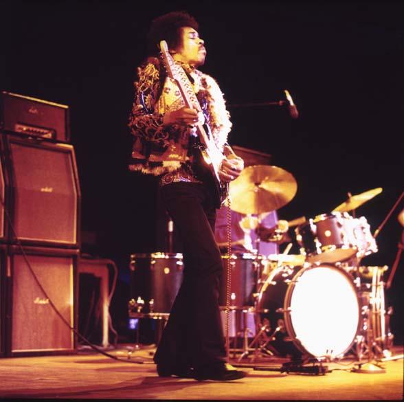 Show de Jimi Hendrix na Dinamarca, em 1969