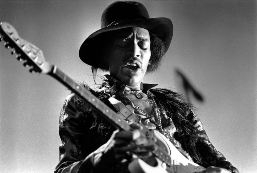 Jimi Hendrix, em 1968