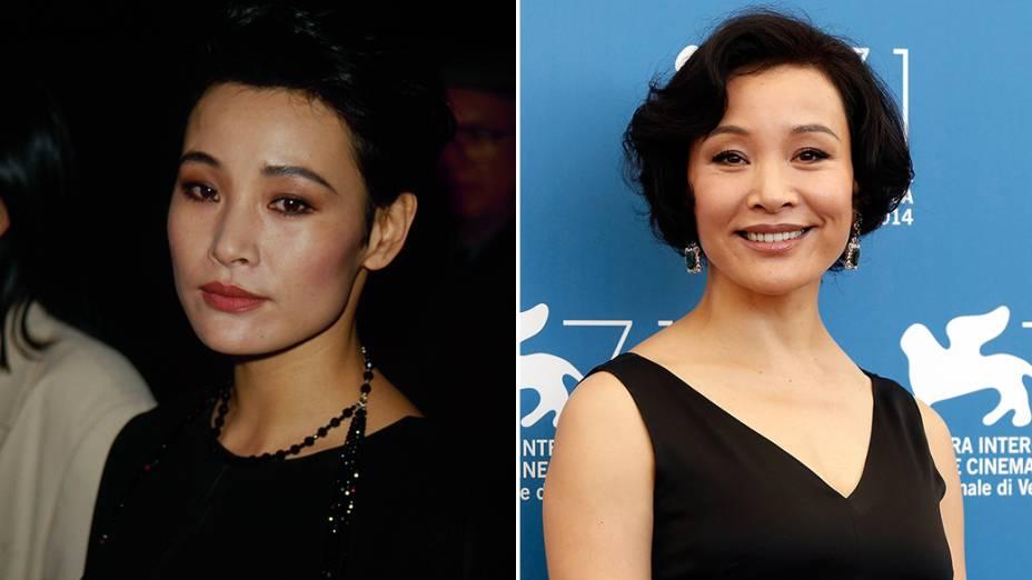 A atriz Joan Chen, que interpretou a personagem Jocelyn Packard, na série Twin Peaks