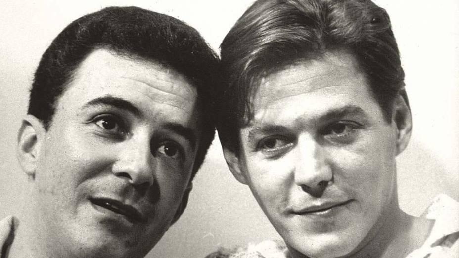 João Gilberto e Tom Jobim