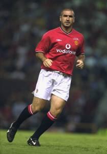 Eric Cantona ficou conhecido pelos seus gols e pelas confusões dentro e fora dos campos.