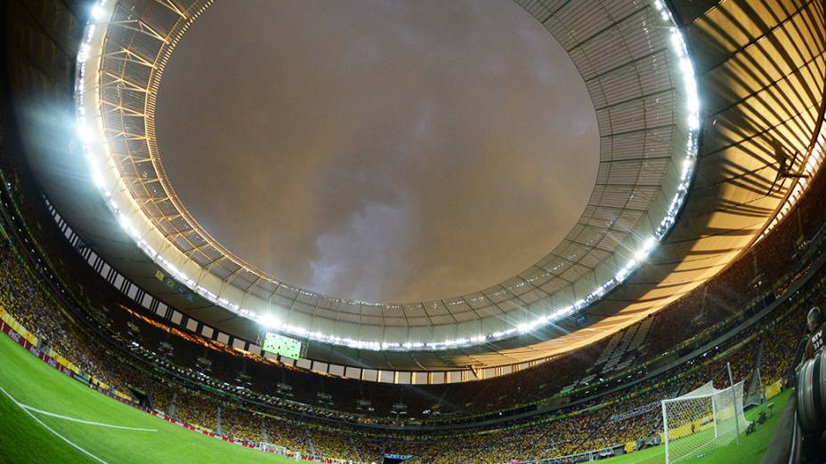 Vitória do Brasil contra o Japão na Copa das Confederações, em Brasília