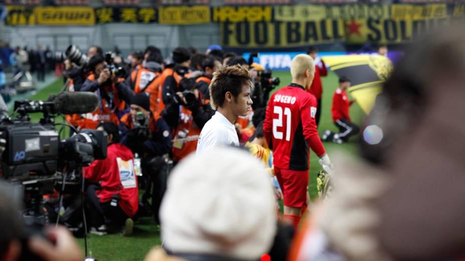 Santos na semifinal do Mundial de Clubes da FIFA em Toyota, Japão