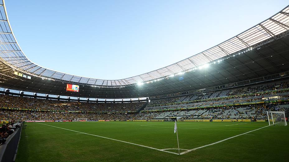 Estádio do Castelão que recebe o jogo de Brasil e México, pela Copa das Confederações em Fortaleza