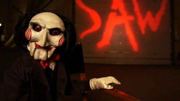 Serial killer Jigsaw, da franquia 'Jogos Mortais'