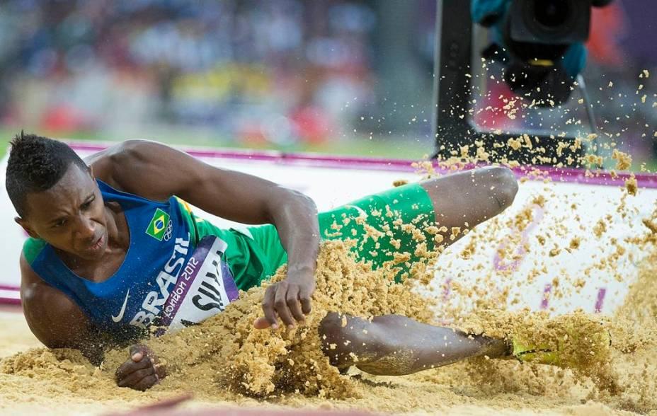 Duda, atleta brasileiro do salto em distância