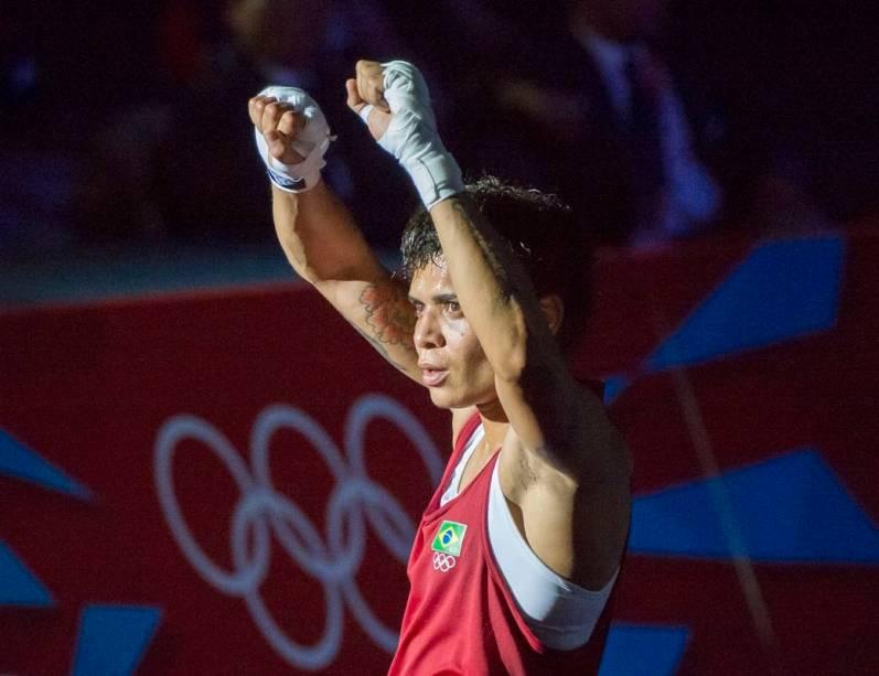 A brasileira Adriana Araújo, do boxe
