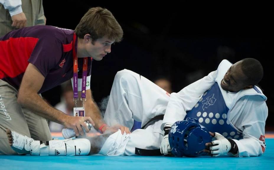 Diogo Silva, atleta brasileiro do taekwondo
