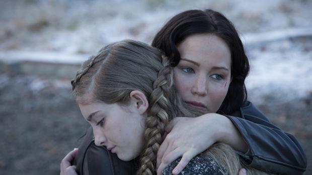 Personagem Katniss (Jennifer Lawrence), em cena do filme Jogos Vorazes: Em Chamas