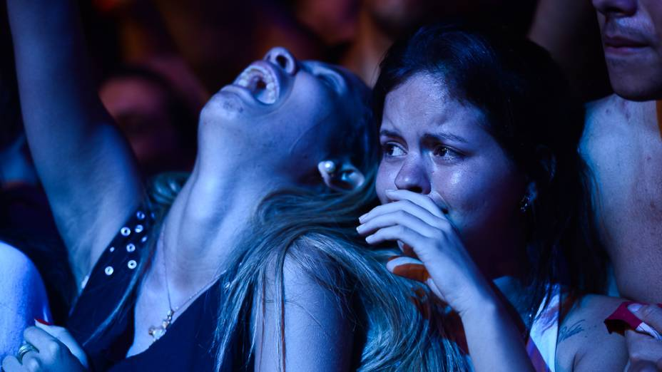 Fãs de John Mayer durante show no Rock in Rio 2013