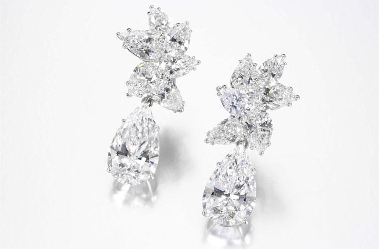 Sucesso no leilão anterior: o par de brincos de diamantes foi vendido na Sothebys pelo equivalente a 4,84 milhões de reais em 2008