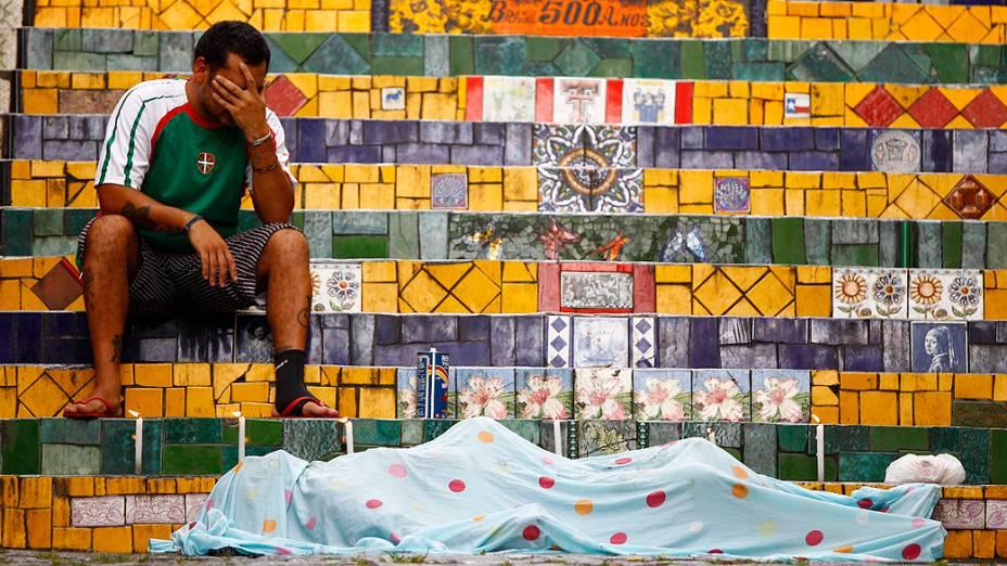 Artista plástico Jorge Selarón é encontrado morto em Santa Teresa / RJ