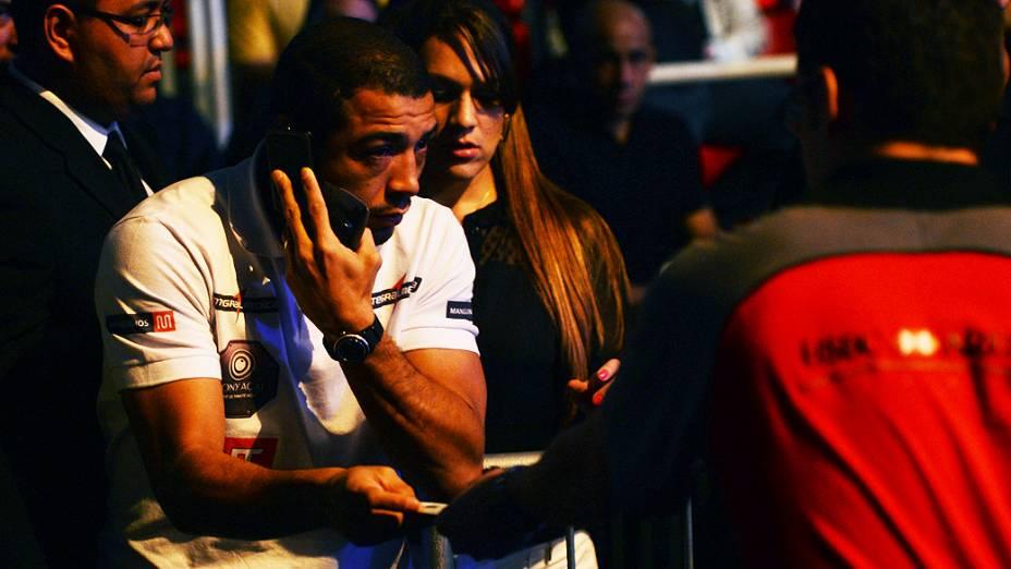 José Aldo durante o UFC Rio III, realizada na HSBC Arena, Barra da Tijuca