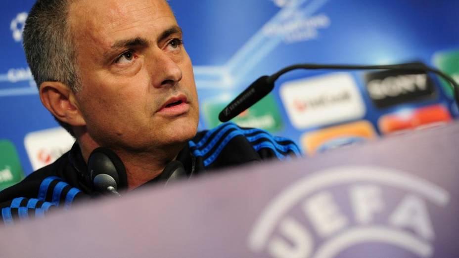 Mourinho, técnico do Real Madrid, busca campeonato na liga com o time espanhol