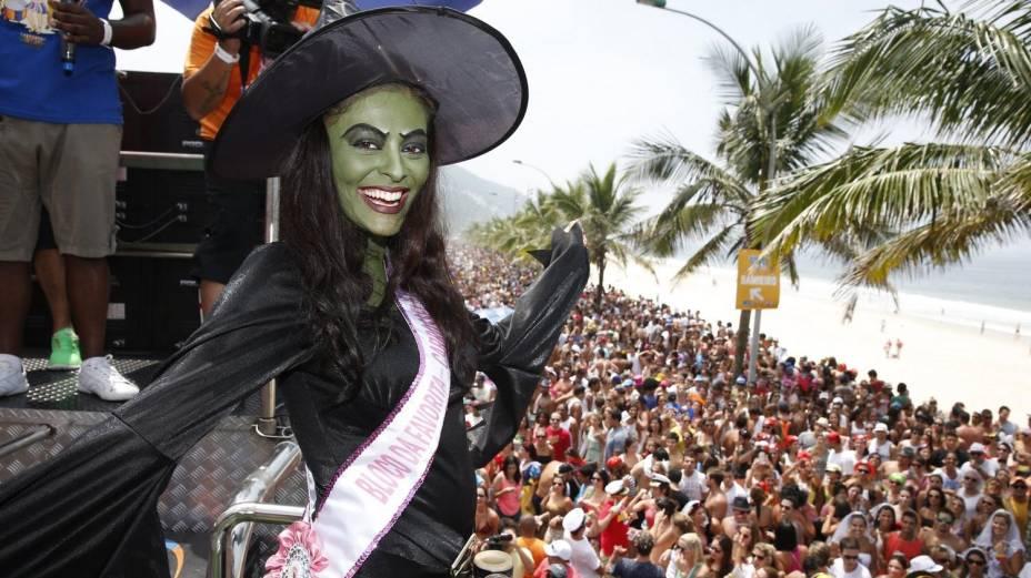 Juliana Paes escolhe fantasia inusitada para o Carnaval, no Rio de Janeiro