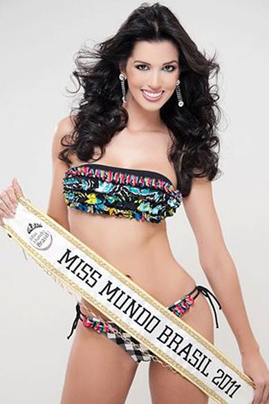 Juceila Graziele Bueno, eleita Miss Mundo Brasil 2011