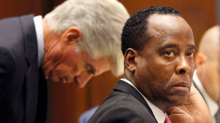 O oitavo dia do julgamento do médico Conrad Murray pela morte de Michael Jackson, em Los Angeles